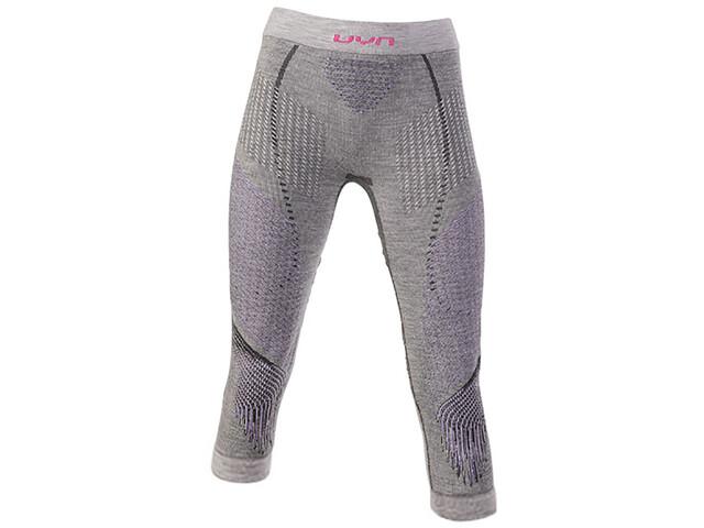 UYN Underwear Fusyon UW Pantalon de cyclisme Femme, anthracite/purple/pink